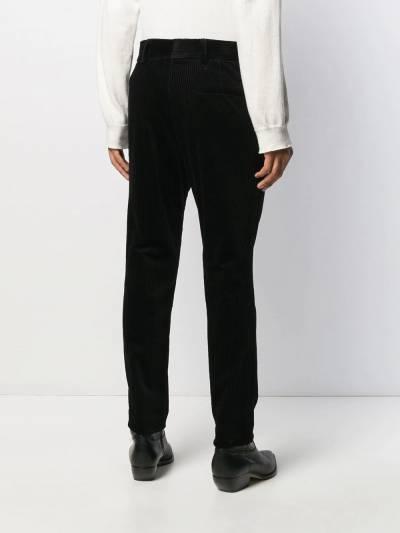 Haider Ackermann - вельветовые брюки прямого кроя 3566A996955853690000 - 4