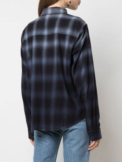 Amiri - plaid shirt 63350PD9555303900000 - 4