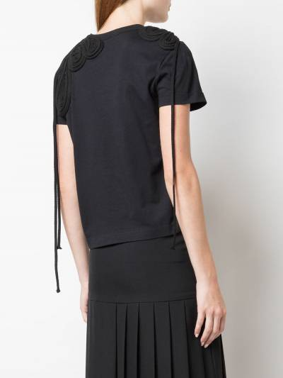 Vera Wang футболка с вышивкой R419T26 - 4