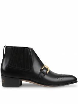 Gucci ботинки с брогированием GG 57299206F00