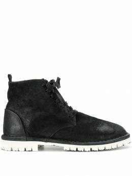 Marsell ботинки с контрастной подошвой MWG99733669