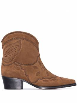 Ganni ковбойские ботинки Texas 40 S0961