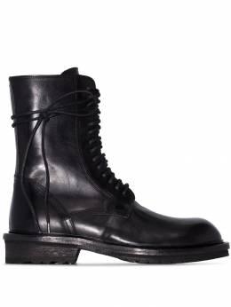 Ann Demeulemeester ботинки в стиле милитари 19022822P390099