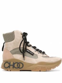 Jimmy Choo высокие кроссовки Inca/F на шнуровке INCAFCDH