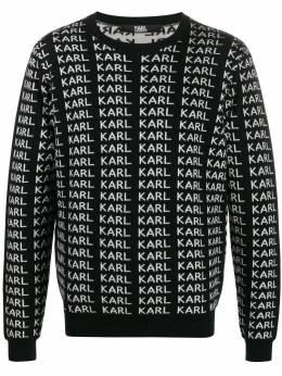 Karl Lagerfeld джемпер с принтом Karl KL190316990