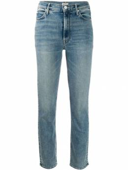 Mother укороченные джинсы скинни 1276756