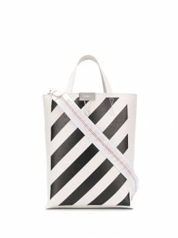 Off-White сумка-тоут в диагональную полоску OWNA039F194230720210