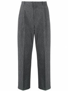 Alexander Wang брюки с узором в елочку 6WC2194035