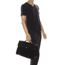 Prada Black Nylon Laptop Bag 223477