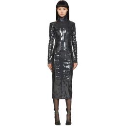 Y / Project Black Strip Turtleneck Dress WTSDRESS31- S17 F85