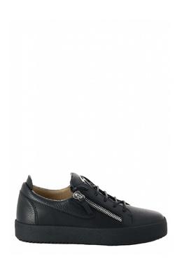 Кеды черного цвета на молнии Giuseppe Zanotti Design 2096151988