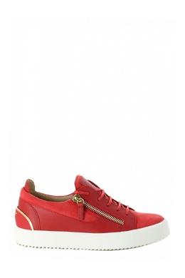 Красные кеды на белой подошве Giuseppe Zanotti Design 2096151990