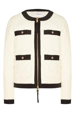 Белая куртка с контрастной отделкой Claudie Pierlot 2631151424