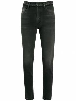Marcelo Burlon County Of Milan декорированные джинсы скинни CWYA009E19C271741000