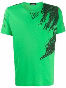 Stone Island Shadow Project футболка с абстрактным принтом MO711920610