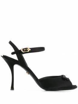Dolce&Gabbana босоножки с бантом CR0880A7630