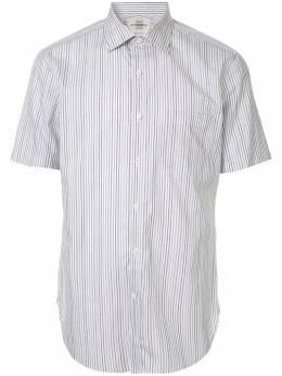 Kent & Curwen полосатая рубашка с короткими рукавами K3942TM160