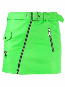 Manokhi юбка мини с поясом A00000322