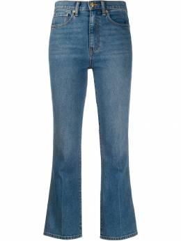 Tory Burch укороченные расклешенные джинсы 60118