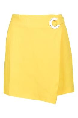Желтая юбка с люверсами Iceberg 1214152050