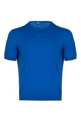 Синий джемпер с короткими рукавами Fedeli 680152243