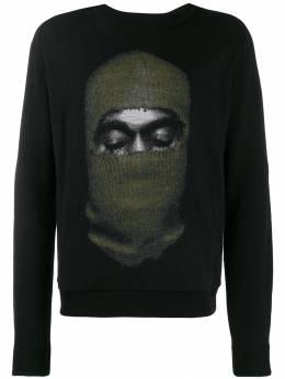 Ih Nom Uh Nit свитер с принтом NMW19208