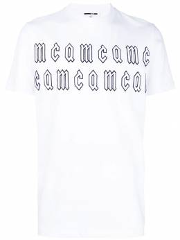MCQ by Alexander McQueen embroidered T-shirt 277605RLT84