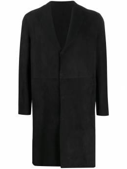 Salvatore Santoro однобортное пальто 37507UCAMI