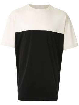 Osklen футболка с нагрудным карманом 59093