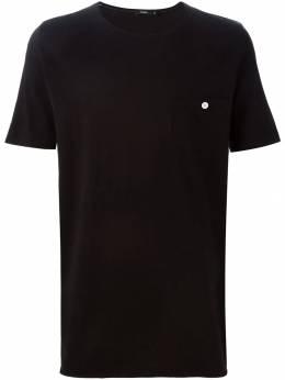 Bassike футболка с нагрудным карманом BM2003