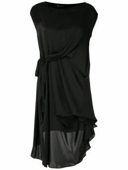 Uma | Raquel Davidowicz платье Rombulu с драпировкой VESTIDOROMULU02SS20