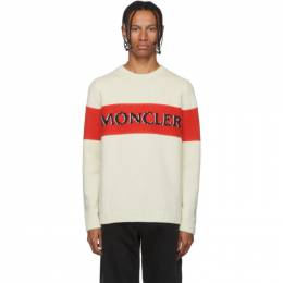 Moncler Genius 2 Moncler 1952 Beige Maglione Tricot Sweater 90456 - 50 - A9255