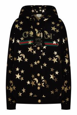 Худи с отделкой Gucci 470151676