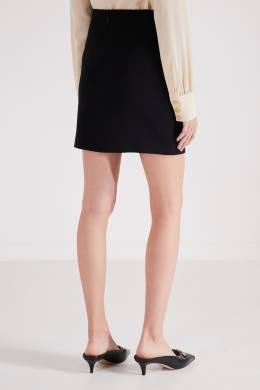 Черная мини-юбка Gucci 470151706