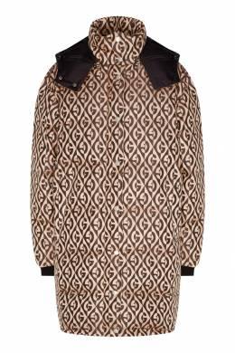 Куртка с контрастным узором Gucci 470151738