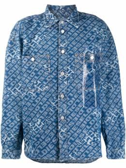 Diesel джинсовая куртка с логотипом 00SWGJ0090S