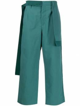 Craig Green брюки прямого кроя с драпировкой CGAW19MWOTRS08