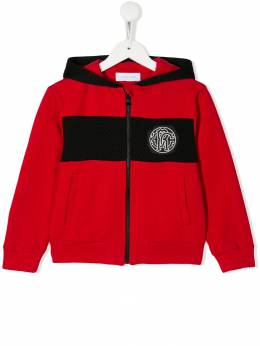Roberto Cavalli Junior куртка-бомбер с логотипом JJT951CF027