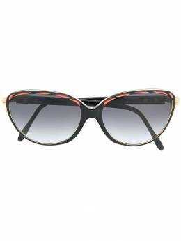 Yves Saint Laurent Pre-Owned солнцезащитные очки 1980-х годов в круглой оправе YVES150G