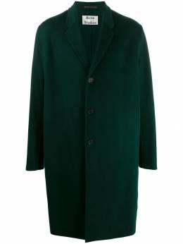 Acne Studios однобортное пальто B90195
