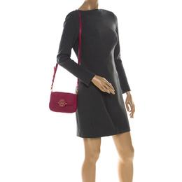 Tory Burch Magenta Leather Amanda Crossbody Bag 225636