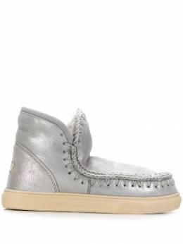 Mou ботинки с декоративной строчкой MUFW111000C