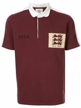 Kent & Curwen рубашка-поло с нашивкой K39M0TM230