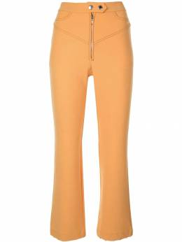Ellery укороченные брюки с завышенной талией 9PP407SUE