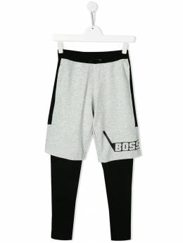 Boss Kids шорты-бермуды и легинсы в стиле колор-блок J24618A07