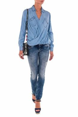 Синие джинсы с декором Patrizia Pepe 1748152691