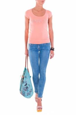 Голубые обтягивающие джинсы Patrizia Pepe 1748152564