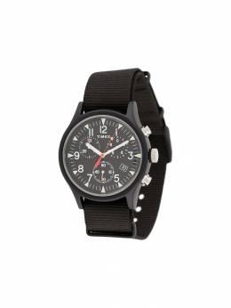 Timex наручные часы MK1 Aluminum Chronograph 40 мм TW2R67700