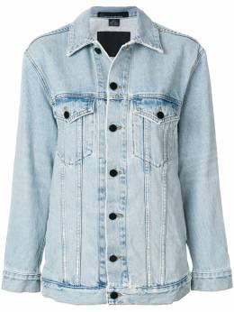 Alexander Wang джинсовая куртка свободного кроя 4D992034ACDN1003