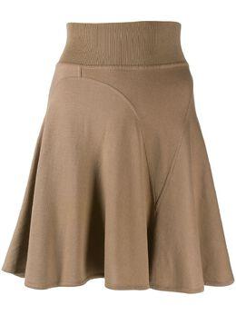 Alaïa Pre-Owned короткая юбка годе 130462